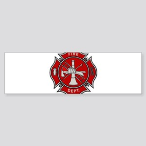 Fire Dept. Bumper Sticker
